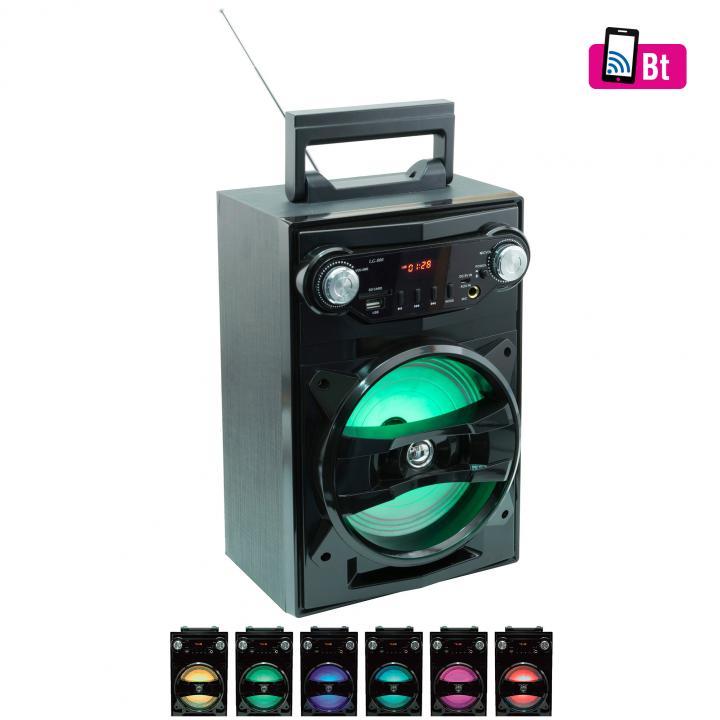 5in1 hordozható multimédia hangszóró