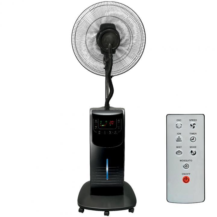 Párásító ventilátor távirányítóval