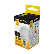 LLMG14-6,5W-WW_3000K - Entac LED, Mini Gömb forma, E14, 6,5W, WW
