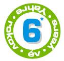 6 év garancia