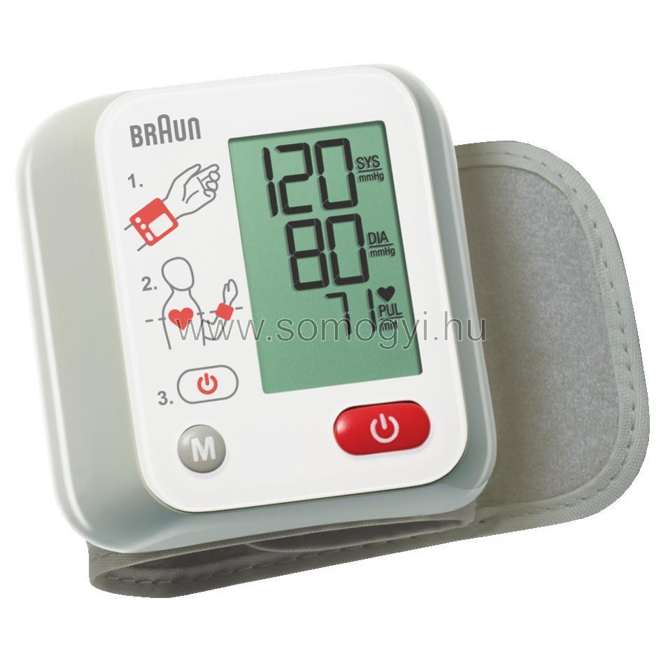 Vérnyomásmérő, csuklós, 10 memória BBP 2000CEME - Somogyi..